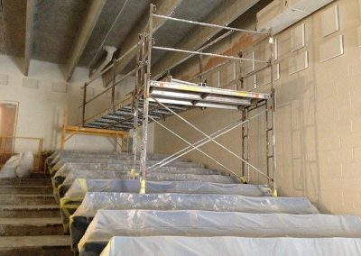 Auditorium-Containment-and-Scaffolding